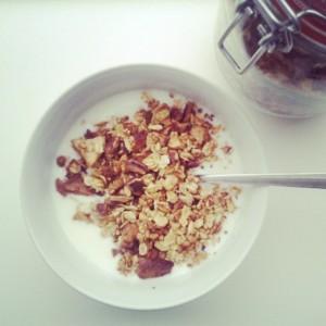 ontbijtrecept, granola
